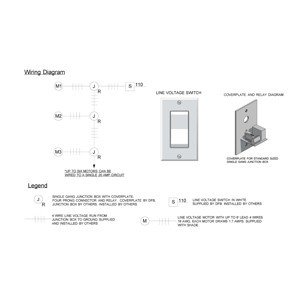 wiring diagrams dfb s 02 multiple line voltage shade wiring