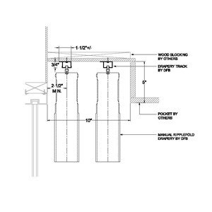Ripplefold Detail Drawings Dfb Sales